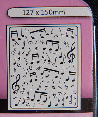 Crafts-Too/CTFD3029/Embossing /Folder/Musical Notes