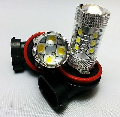 H7 499 PX26d 3014 TURBO HIGH POWER LED FRONT FOG CAR XENON WHITE BULBS A