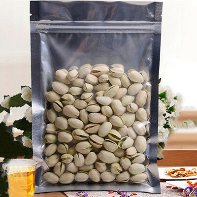 Hot Food Storage Bags Smell Proof Foil Bag Nuts Protection Ziplock Pouches 100PC