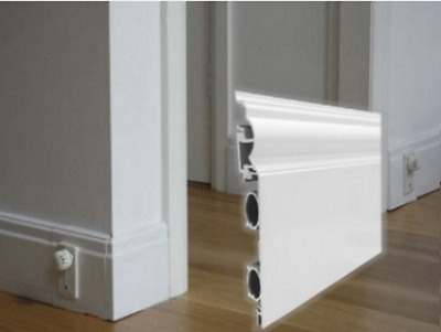 Thermaskirt - Invisible Trim Baseboard Heating - Large Room kit