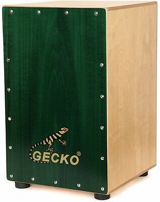 Gecko Percssion CL013 Greenwood Cajon Drum with Bag