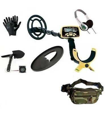 Metal Detector Garrett Ace 250 Gratis Headphones Plate Cover Pala Gloves Pouch