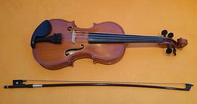 Gliga Gems 1/2 Half Size Violin With Glasser Bow And Case (New Over £450)