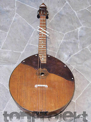 old vintage DOMRA домра traditional russian 4string bowlback mandolin USSR