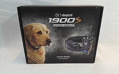 Dogtra 1900S Waterproof Dog Training Collar System 3/4 Mile Range Rechargeable