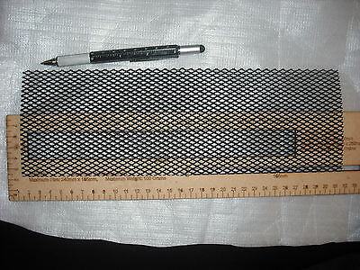 30x10cm black wire mesh ventilation grill vent for amplifier amp cover 300mm