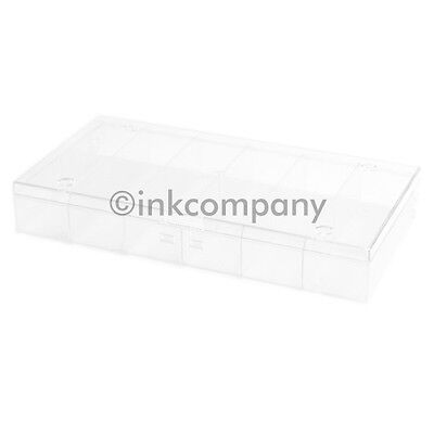 1x 12's Sorting box Collector's box for metal transparent new