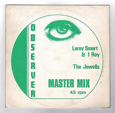 "LEROY SMART & I ROY-jah is my light   12""   observer  (hear)    roots reggae"