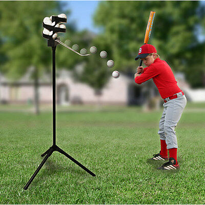 TREND SPORTS BIG LEAGUE PRO PITCHING MACHINE w/ 8 HOUR BATTERY
