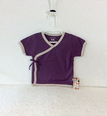 60% Off! All Natural, 4 New BabySoy Multi Colored Unisex Kimono Tees, 12-18m