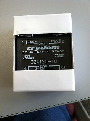 Crydom # D24125-10 Solid- State Relay