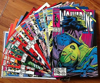Wolverine Volume 1 Comic Lot Issue #57-73 High Grade VF/NM to NM 9.0 - 9.4