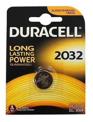 10x Duracell CR2032 3V Lithium Coin Cell Battery 2032 DL2032/CR/BR2032