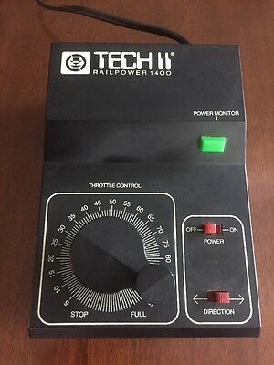 MRC Tech II Railpower 1400 Model Train Controller - NO RESERVE AUCTION