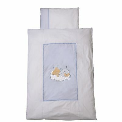 Easy-Baby Bettwäsche 100x135 / 40x60 cm  Sleeping bear bleu 410-81