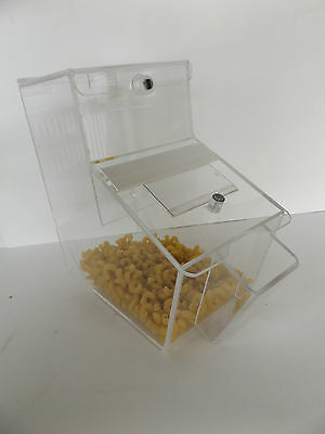 Clear Candy Container Display Bulk Candy Box Holder