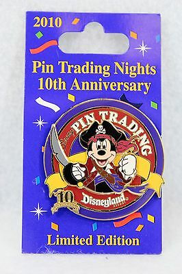 Disney DLR 10th Pin Trading Night Mickey Mouse LE 500 Pirates of the Caribbea