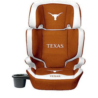 Lil Fantexas Longhorns 2-In-1 Premium High Back Booster Seat
