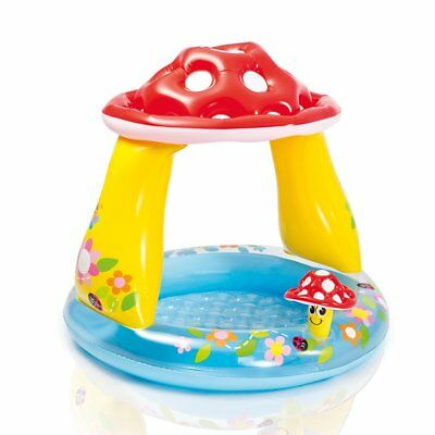 Intex Mushroom Baby Inflatable Pool Summer Sea Swim Water Beach Fun Kids 57114NP