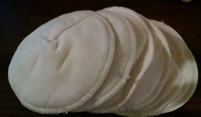 Reusable Washable Maternity Cloth Nursing Breast Soft Pads Set of 6