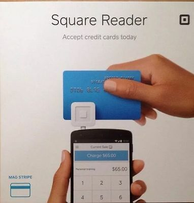 White Square 2014 Credit Card Reader for Apple & Android