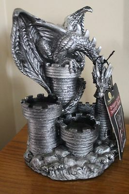 "Dragon Castle Tea Light Holder by Newport Coast Collection New with Tag 7.5""H"