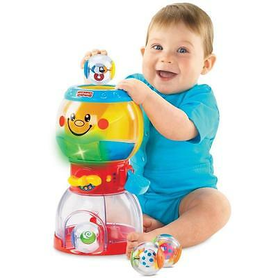 NEW Fisher Price Roll-a-Rounds Swirlin Surprise Gumballs Balls Lights Music Toy
