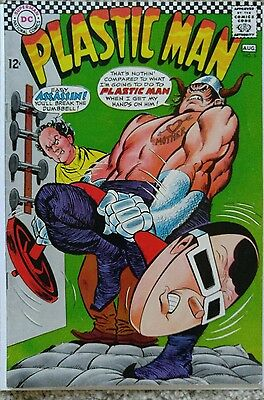 Plastic Man #5 Vf/nm 9.0 Dc 8/1967