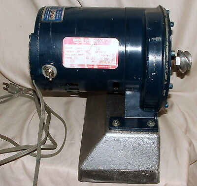 Retsel Mil Master Electric Flour Cereal Mill 1/2 Hp Geared Motor Base Model MM90
