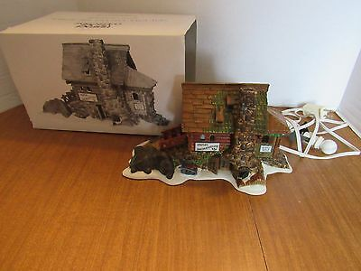 Dept 56 #56580 Semples's Smokehouse  Great For New England Village Display