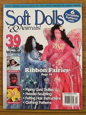 Soft Dolls & Animals - Aug/sept 2005 Fairies African Children Spring 'as New'