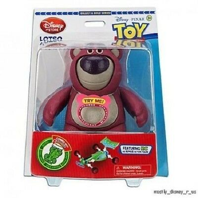 New Disney Store Toy Story 3 Lotso Bear With Build RC R/C Action Figure Piece