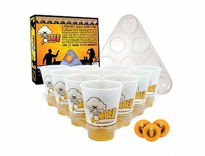 Beer Pong Set Bombed / Bier Pong - Party Game - Trinkspiel