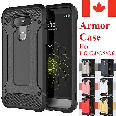 For LG G4 / LG G5 & LG G6 Case - Dual Layer Hybrid Shockproof Hard Armor Cover