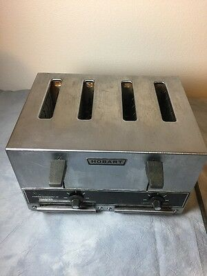 hobart commercial toaster model ET-25. 4slice toaster 240 volt Ac Dimension II