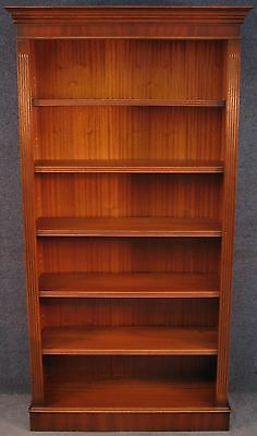 Georgian Style Tall Mahogany Bookcase / Bookshelves