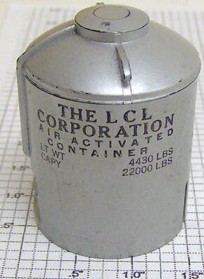 AF PA-13C201 S Scale LCL Corp. Air Activated Container Canister