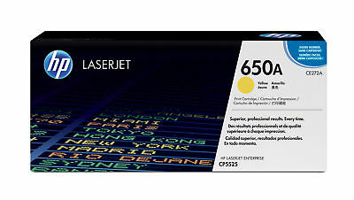 HP Colour LaserJet CE272A Original Toner gelb Standardkapazität 15.00