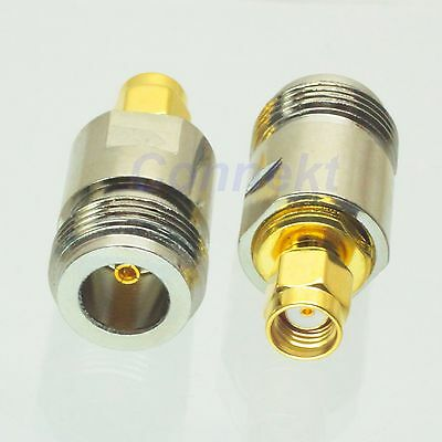 1pce N female jack to RP-SMA male jack center RF coaxial adapter connector