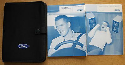Ford Fusion Handbook Owners Manual Wallet 2005-2012 Pack 15235