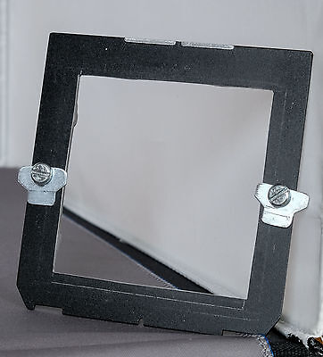 Wista lens panel convertor to hold Horseman lens panel  (Reduced)