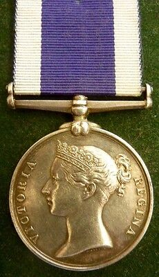 Victorian Royal Navy Long Service Medal,commissioned Boatman, H.m.coast Guard