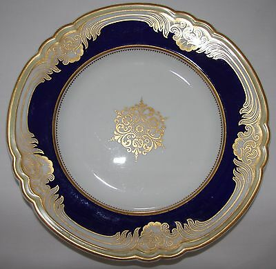 Victorian plate.  G Grainger & Co.  Dated 1894.  Royal China Works.  Worcester.