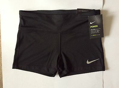 NIKE POWER ESSENTIAL TIGHT DRI FIT Shorts Size Small