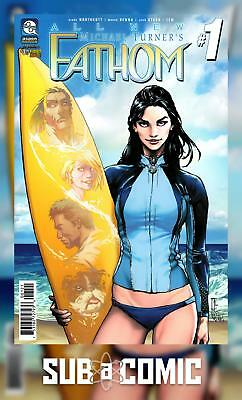 ALL NEW FATHOM #1 COVER B KONAT (ASPEN MLT 2017 1st Print) COMIC
