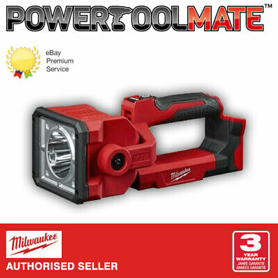 Milwaukee M18SLED 18V TrueView LED Search Work Light Torch (Body Only)