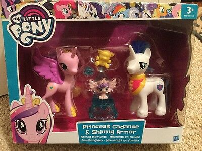 My Little Pony Shining Armour Armor Cadence Family Moments Baby MLP Chrysalis