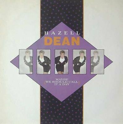 """HAZELL DEAN UK 1988 12"""" Single MAYBE WE SHOULD CALL IT A DAY"""
