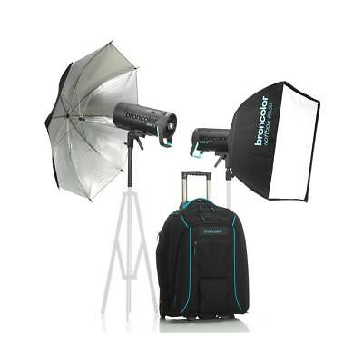 Broncolor Siros 800 L Battery Powered Outdoor 2-Monolight Kit 2 #B-31.751.07