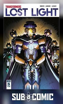 TRANSFORMERS LOST LIGHT #5 (IDW 2017 1st Print) COMIC